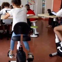 Économie d'énergie : les élèves punis devront pédaler pour alimenter leur école en électricité