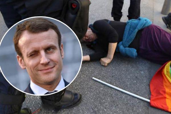 """Gilets Jaunes : Macron impose le """"certificat médical d'aptitude à manifester"""""""