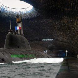 Gilets Jaunes : le sous-marin nucléaire coincé dans le tunnel du canal Saint-Martin
