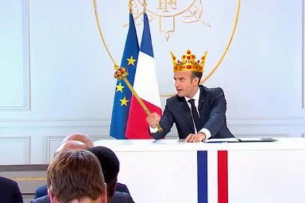 """LREM change de nom et devient """"Le Royaume d'Emmanuel Macron"""""""