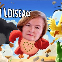 """Angry Loiseau"" : Nathalie Loiseau héroïne d'un jeu vidéo inspiré de Angry Birds"