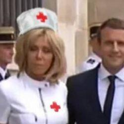 Urgences en grève : Brigitte Macron intègre le personnel soignant à la Pitié-Salpetrière