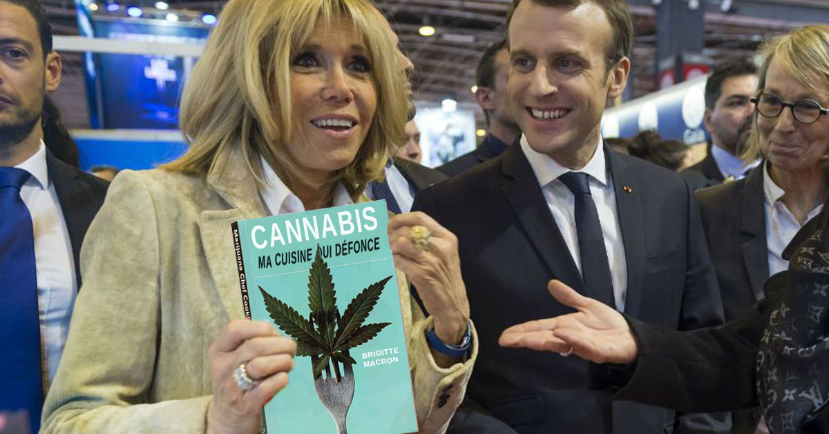 «Ma cuisine qui défonce» : les recettes au cannabis de Brigitte Macron