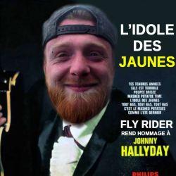 """""""L'idole des Jaunes"""" : Fly Rider sort un album hommage à Johnny Hallyday"""