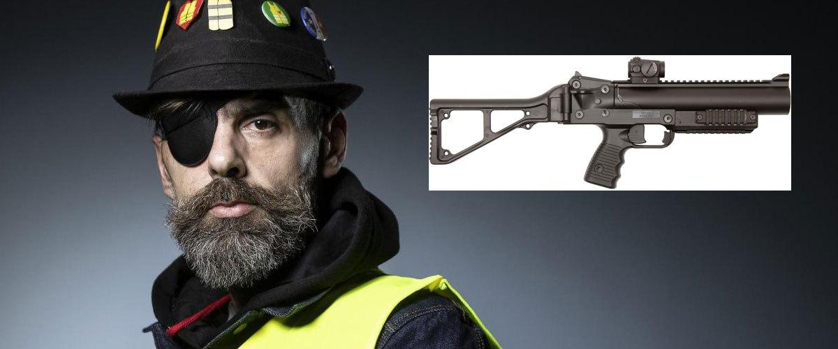 Après le revolver de Van Gogh, le LBD qui a éborgné Jérôme Rodrigues vendu aux enchères