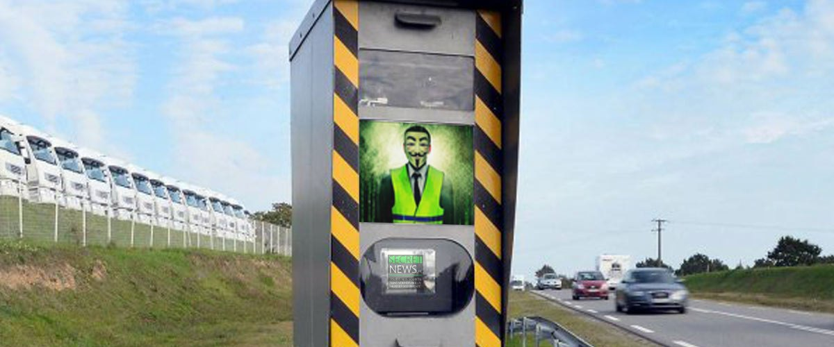 Un radar piraté par un hacker Gilet Jaune fait gagner des points aux automobilistes flashés