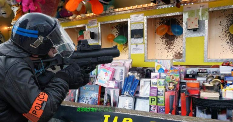 tir-carabine-foire-du-trone-lbd-crs SecretNews
