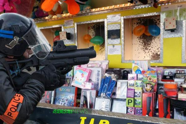 Foire du Trône : un CRS remplace la carabine par son LBD et remporte le gros lot