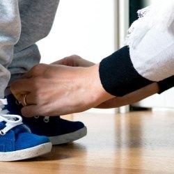 Étude : 60% du temps des parents est consacré à chercher les chaussures des enfants