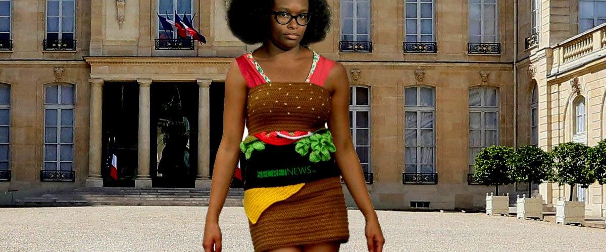 """La robe """"kebab"""" de Sibeth Ndiaye ne fait pas l'unanimité ..."""