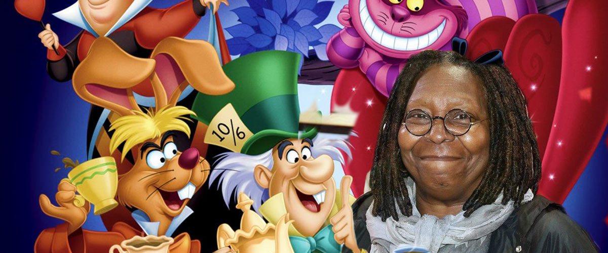 Disney choisit Whoopi Goldberg pour interpréter Alice au Pays des Merveilles