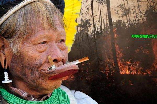 Incendies en Amazonie : Jair Bolsonaro veut équiper les indiens de cendriers