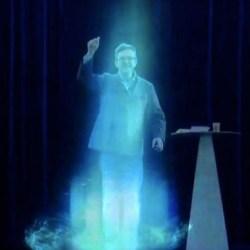Jean Luc Mélenchon envoie son hologramme a son procès