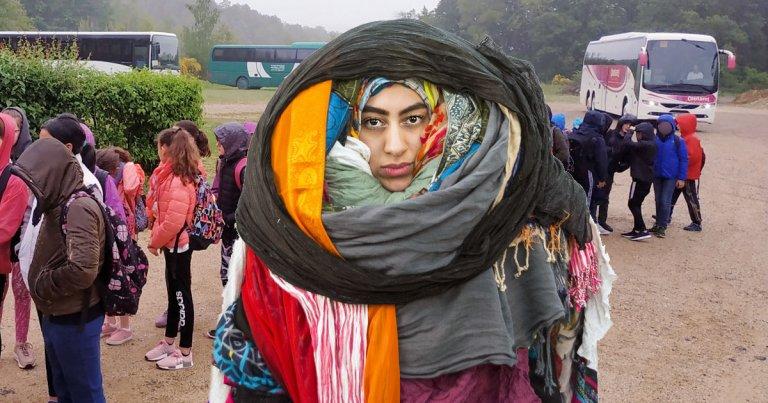 accompagnatrice-scolaire-voile-hijab-maman-1 SecretNews