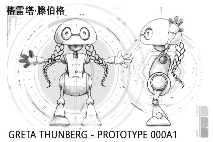 greta-thunberg-robot-plan Greta Thunberg est un robot chinois télécommandé par une secte islamogauchiste