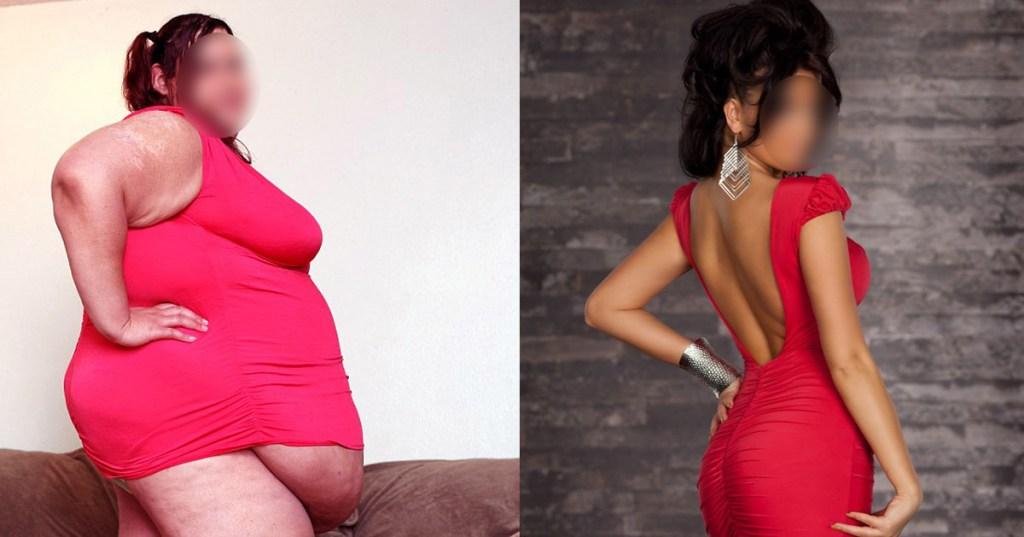 """Grâce au régime """"comme j'aime"""", elle perd 128 kilos pendant la semaine """"gratuite"""""""