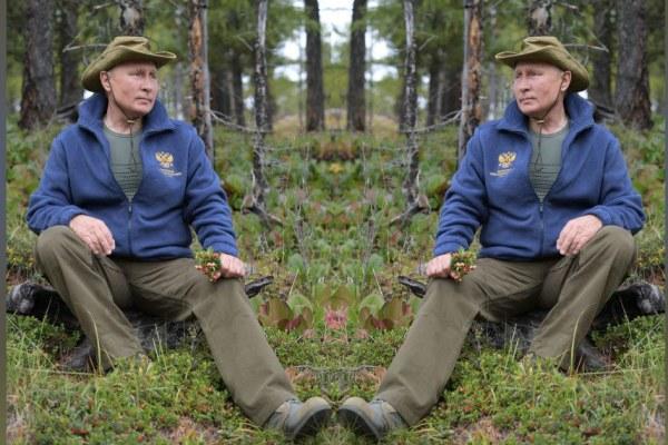Une version russe de Brokeback Mountain jouée par Poutine et … Poutine