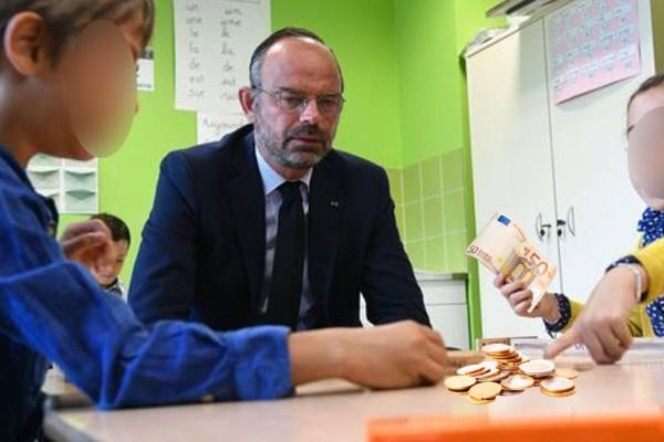 Retraites : Edouard Philippe encourage les enfants à cotiser dès l'âge de 5 ans