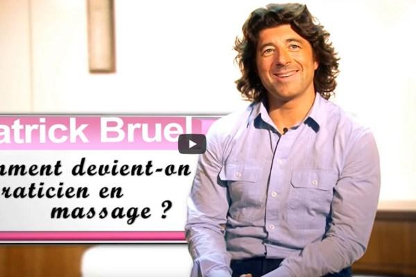 Patrick Bruel ouvre un salon de massage (interview vidéo ▶)