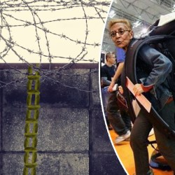 Patrick Balkany s'évade avec une échelle de cornichons, sa femme aperçue à l'aéroport