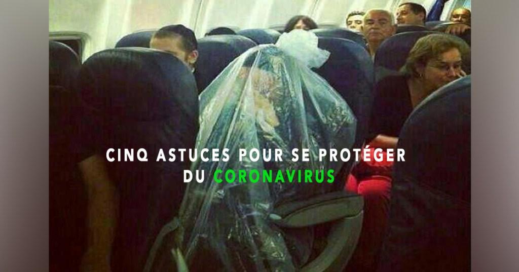 Santé : 5 astuces pour se protéger du coronavirus