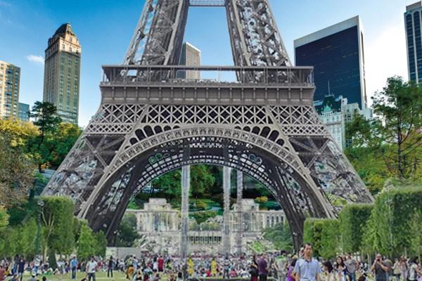 En échange de Central Park, Benjamin Griveaux veut offrir la Tour Eiffel à New-York