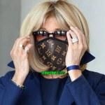 Brigitte Macron commande 500 masques Louis Vuitton pour le gouvernement