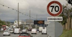 Pour ralentir le coronavirus, la vitesse maximum sur les routes est abaissée à 70 km/h