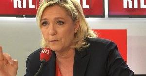 Coronavirus : Marine Le Pen demande aux électeurs RN de ne pas aller voter pour éviter toute contamination