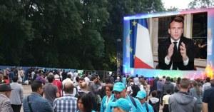 """""""Restez chez vous"""" : discours de Macron ce soir au 20h retransmis sur écrans géants"""