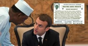 Après le Professeur Raoult, Macron a rencontré le marabout Sako Ndiaye