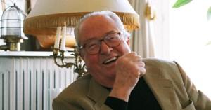 L'œil de verre de Jean-Marie Le Pen vendu aux enchères pour payer la dette du RN