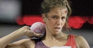 Farida l'infirmière a été vice-championne du monde de lancer du poids
