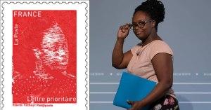 Macron lance un timbre à l'effigie de Sibeth Ndiaye, pour service rendu