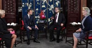 Les Macron invitent Marine Le Pen et Jean-Luc Mélenchon à prendre le thé