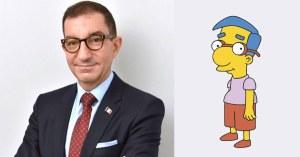 Cinéma : Jean Messiha jouera le rôle de Milhouse dans le prochain film Les Simpson