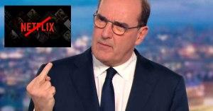 Pour soutenir les cinémas, Castex annonce la fermeture de Netflix et YouTube pendant le confinement