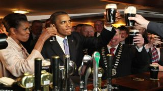 Obama Guinness Happy Hours
