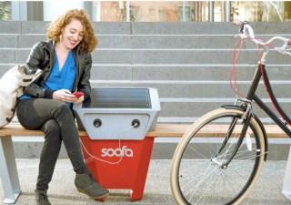 Soofa Solar Phone Charger NYC