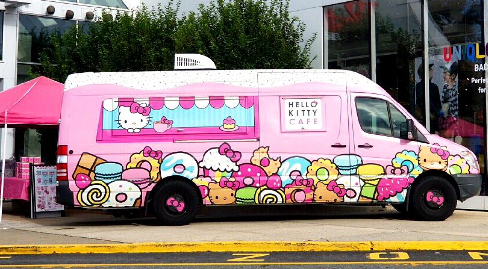 hello kitty truck2