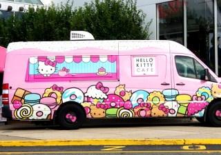 hello kitty truck2