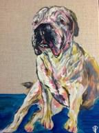 "11x14 Acrylic Painting ""Taylor"""
