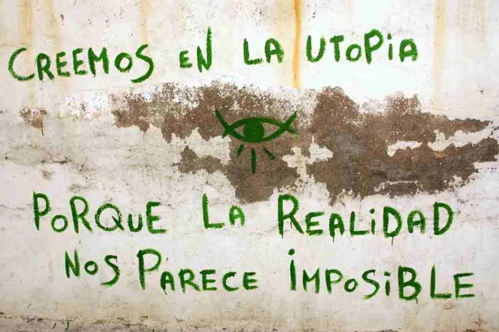 Creemos en la utopía
