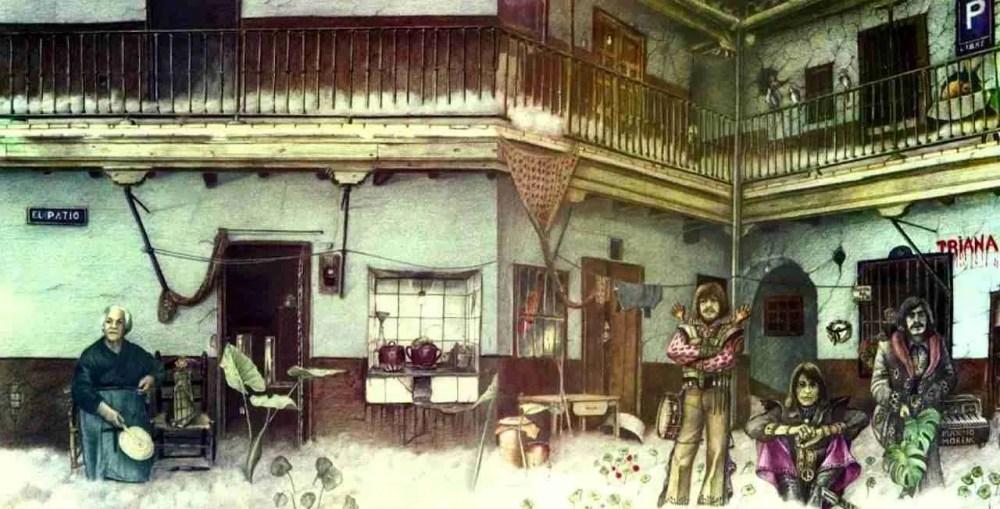 portada completa de El Patio de Triana Máximo Moreno 1975