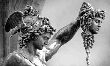 Perseo y la Gorgona
