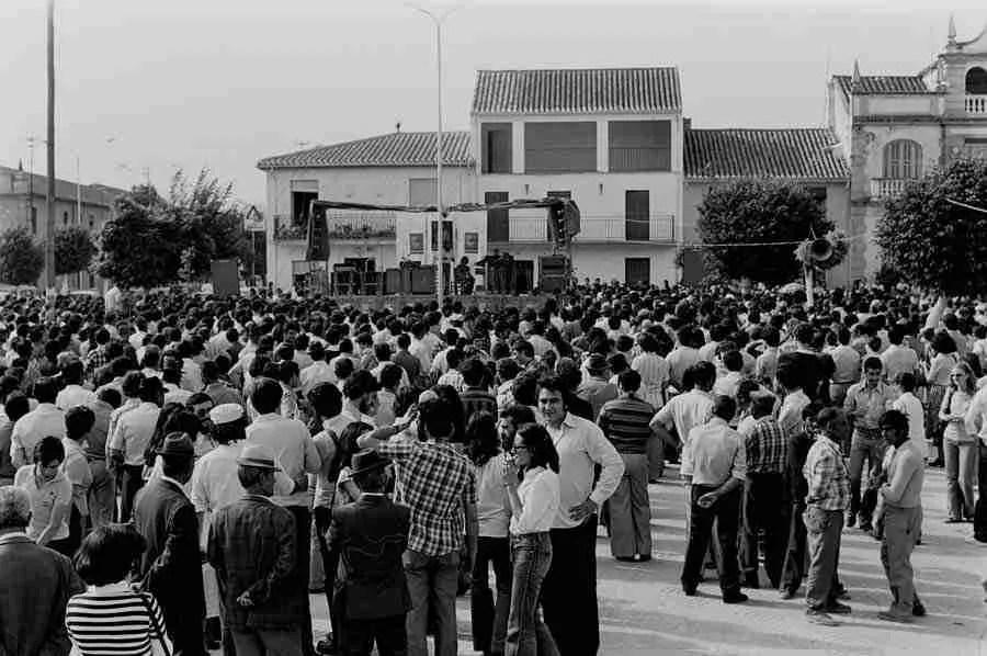 Primer homenaje popular a Federico García Lorca