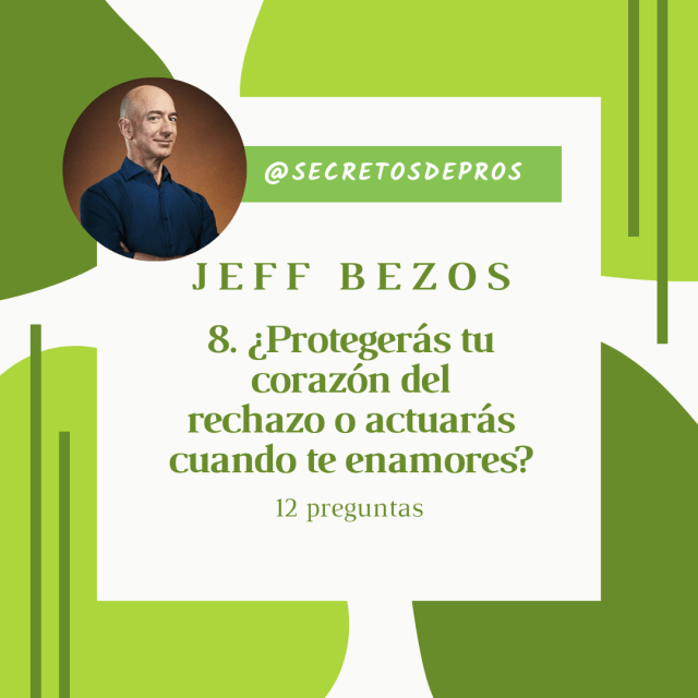 La fórmula secreta que siguió el magnate Jeff Bezos, son las siguientes 12 preguntas