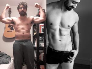 Mathieu du blog transformation physique