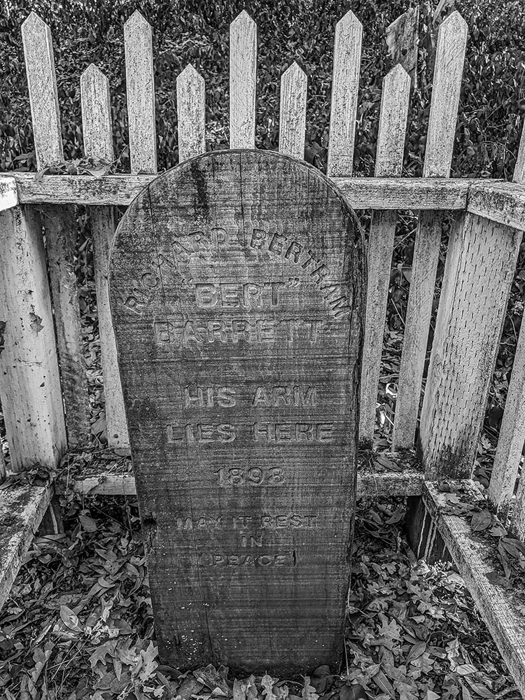 Haunted Bert Barrett's Grave in San Jose, CA