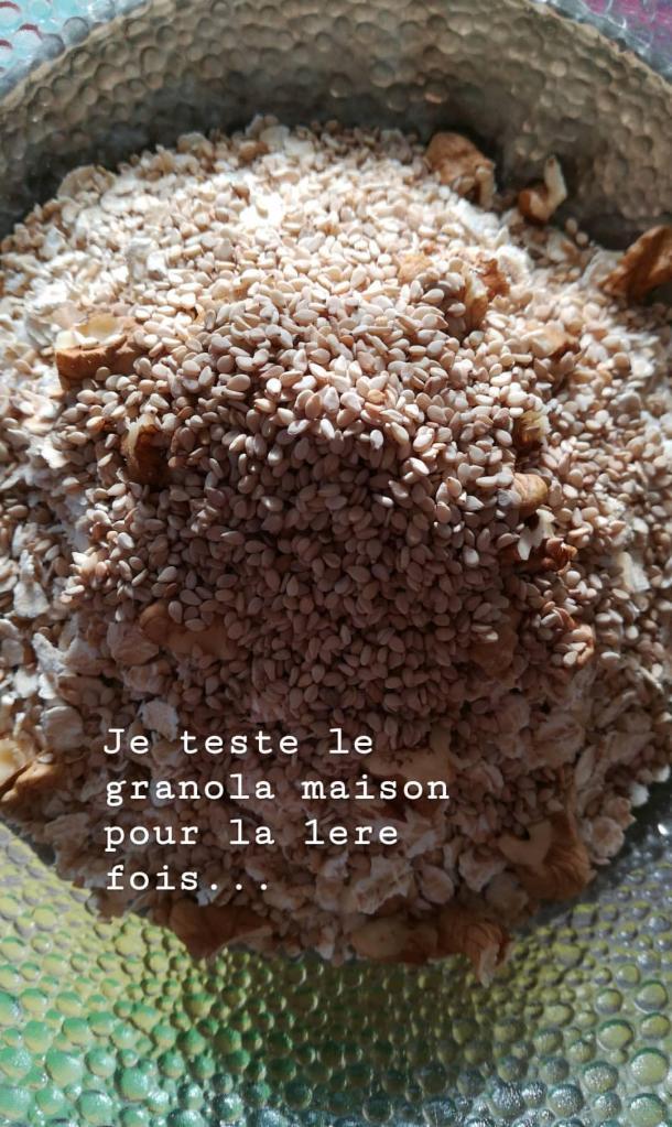 mélange sec du 1er granola